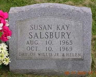 SALSBURY, SUSAN KAY - Madison County, Iowa   SUSAN KAY SALSBURY