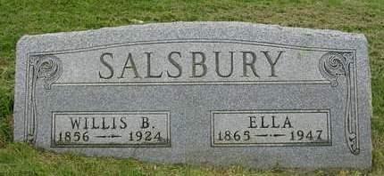 SALSBURY, WILLIS LEE BUCHANAN - Madison County, Iowa | WILLIS LEE BUCHANAN SALSBURY