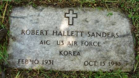 SANDERS, ROBERT HALLETT - Madison County, Iowa | ROBERT HALLETT SANDERS