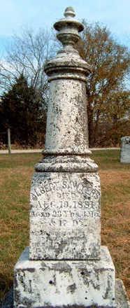 SAWYERS, ALBERT - Madison County, Iowa | ALBERT SAWYERS