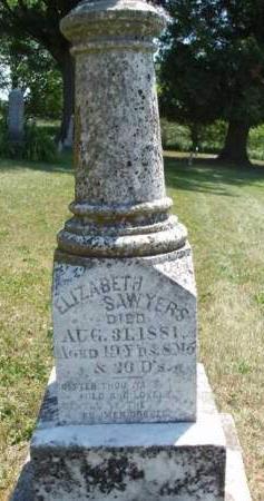 SAWYERS, ELIZABETH - Madison County, Iowa | ELIZABETH SAWYERS