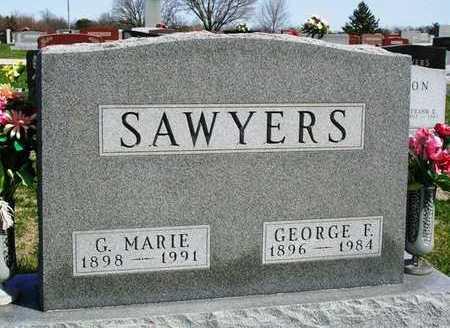 SAWYERS, GEORGE FLOYD - Madison County, Iowa | GEORGE FLOYD SAWYERS