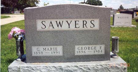 SAWYERS, GARNET MARIE - Madison County, Iowa   GARNET MARIE SAWYERS