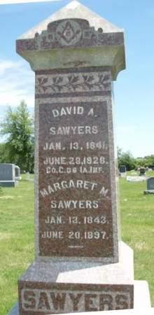 SAWYERS, DAVID A - Madison County, Iowa | DAVID A SAWYERS
