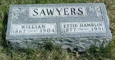 SAWYERS, MINNIE ETTA (ETTIE) - Madison County, Iowa | MINNIE ETTA (ETTIE) SAWYERS