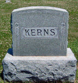 KERNS, FAMILY STONE - Madison County, Iowa | FAMILY STONE KERNS