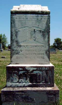 SAXTON, MYRTLE E. - Madison County, Iowa | MYRTLE E. SAXTON