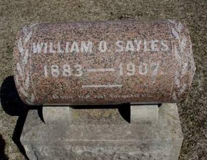SAYLES, WILLIAM OTIS - Madison County, Iowa | WILLIAM OTIS SAYLES