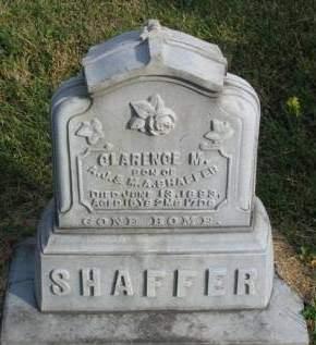 SHAFFER, CLARENCE M. - Madison County, Iowa | CLARENCE M. SHAFFER