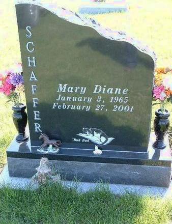SCHAFFER, MARY DIANE - Madison County, Iowa | MARY DIANE SCHAFFER