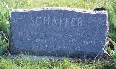 SCHAFFER, WALTER LOUIE - Madison County, Iowa | WALTER LOUIE SCHAFFER