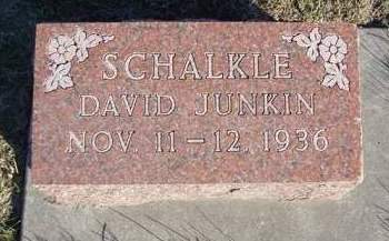 SCHALKLE, DAVID JUNKIN - Madison County, Iowa | DAVID JUNKIN SCHALKLE