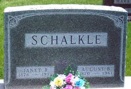 SCHALKLE, JANET REID - Madison County, Iowa | JANET REID SCHALKLE