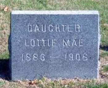 SCHLARB, LOTTIE MAE - Madison County, Iowa | LOTTIE MAE SCHLARB
