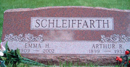 SCHLEIFFARTH, EMMA HARRIET - Madison County, Iowa | EMMA HARRIET SCHLEIFFARTH