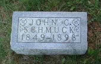 SCHMUCK, JOHN CAIN - Madison County, Iowa | JOHN CAIN SCHMUCK