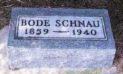 SCHNAU, BODE - Madison County, Iowa | BODE SCHNAU