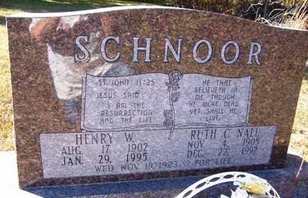 SCHNOOR, HENRY WILLIAM - Madison County, Iowa | HENRY WILLIAM SCHNOOR