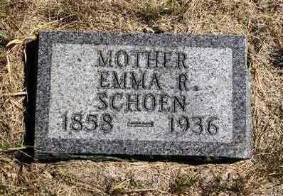 SCHOEN, EMMA REBECCA - Madison County, Iowa   EMMA REBECCA SCHOEN