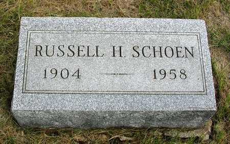 SCHOEN, RUSSELL HUGH - Madison County, Iowa | RUSSELL HUGH SCHOEN