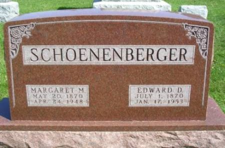 SCHOENENBERGER, EDWARD DAVID - Madison County, Iowa | EDWARD DAVID SCHOENENBERGER