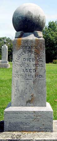 SCHOENENBERGER, FRANK JOSEPH - Madison County, Iowa | FRANK JOSEPH SCHOENENBERGER
