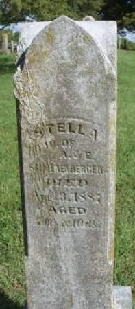 SCHOENENBERGER, STELLA - Madison County, Iowa   STELLA SCHOENENBERGER