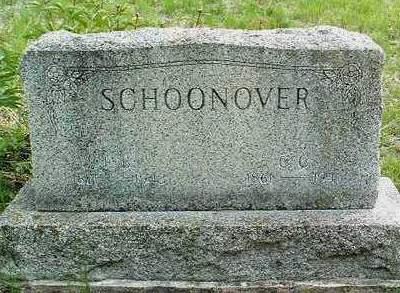 SCHOONOVER, FAMILY HEADSTONE - Madison County, Iowa | FAMILY HEADSTONE SCHOONOVER