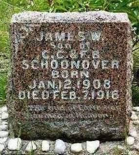 SCHOONOVER, JAMES WESLEY - Madison County, Iowa | JAMES WESLEY SCHOONOVER