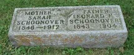 SCHOONOVER, SARAH - Madison County, Iowa | SARAH SCHOONOVER