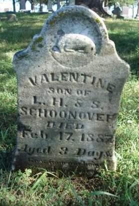 SCHOONOVER, VALENTINE - Madison County, Iowa | VALENTINE SCHOONOVER