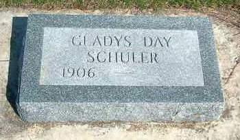SCHULER, GLADYS - Madison County, Iowa   GLADYS SCHULER
