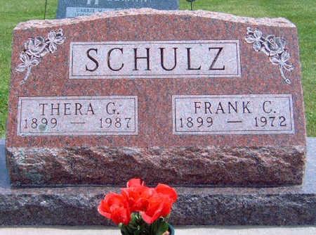 SCHULZ, THERA GREGG - Madison County, Iowa | THERA GREGG SCHULZ