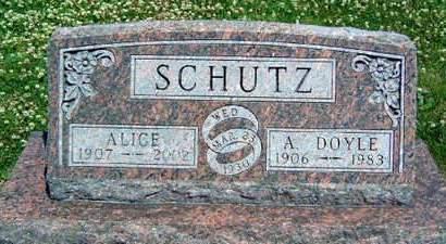 SCHUTZ, ALVIN DOYLE - Madison County, Iowa | ALVIN DOYLE SCHUTZ