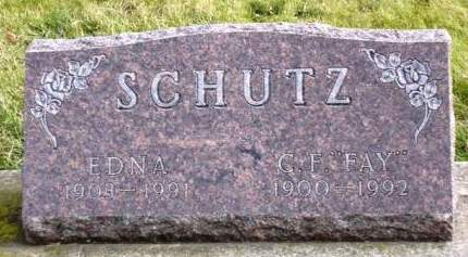 SCHUTZ, CURTIS FAY - Madison County, Iowa | CURTIS FAY SCHUTZ