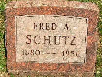 SCHUTZ, FRED ANDREW - Madison County, Iowa | FRED ANDREW SCHUTZ
