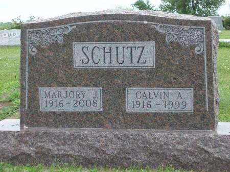 SCHUTZ, CALVIN ANDREW - Madison County, Iowa   CALVIN ANDREW SCHUTZ