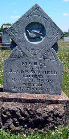 SCOFIELD, FLORENCE MABEL - Madison County, Iowa | FLORENCE MABEL SCOFIELD