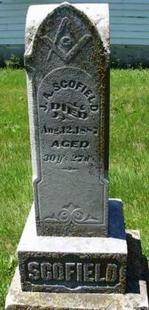 SCOFIELD, JAMES ALFRED - Madison County, Iowa | JAMES ALFRED SCOFIELD