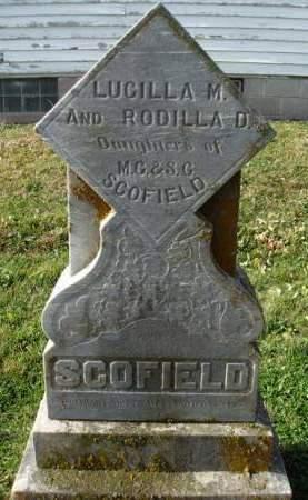 SCOFIELD, LUCILLA M. - Madison County, Iowa | LUCILLA M. SCOFIELD