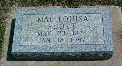 SCOTT, MAE LOUISA - Madison County, Iowa | MAE LOUISA SCOTT