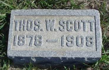 SCOTT, THOMAS W. - Madison County, Iowa   THOMAS W. SCOTT