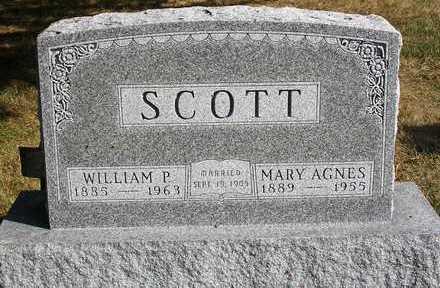 SCOTT, MARY AGNES - Madison County, Iowa   MARY AGNES SCOTT