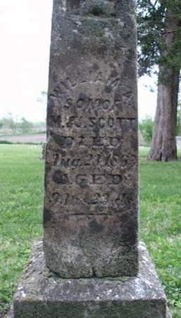 SCOTT, WILLIAM A. - Madison County, Iowa   WILLIAM A. SCOTT