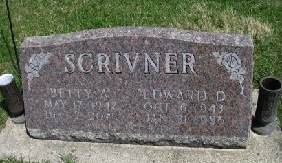 SCRIVNER, EDWARD DALE - Madison County, Iowa | EDWARD DALE SCRIVNER