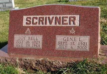 SCRIVNER, GENE LEHMAN - Madison County, Iowa | GENE LEHMAN SCRIVNER