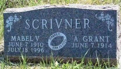 SCRIVNER, ALVIN GRANT - Madison County, Iowa | ALVIN GRANT SCRIVNER
