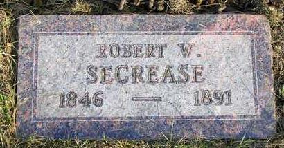 SECREASE, ROBERT W. - Madison County, Iowa   ROBERT W. SECREASE
