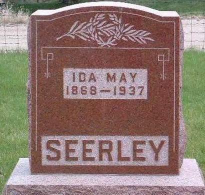 SEERLEY, IDA MAY - Madison County, Iowa   IDA MAY SEERLEY