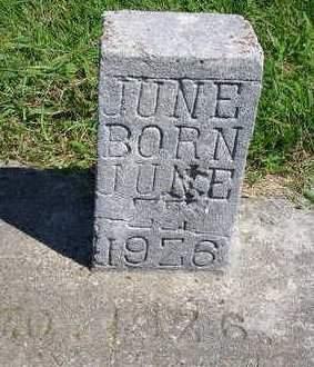 SERVISS, JUNE - Madison County, Iowa   JUNE SERVISS